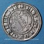 Monnaies Duché de Lorraine. Raoul (1329-1346). 1/4 gros. Nancy