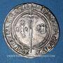Monnaies Duché de Lorraine. René I (1431-1453). Demi-gros. Nancy