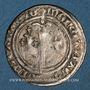 Monnaies Duché de Lorraine. René I (1451-1453). Demi-gros. Nancy