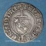 Monnaies Duché de Lorraine. René II d'Anjou (1473-1508). Blanc. Nancy