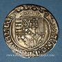 Monnaies Duché de Lorraine. René II d'Anjou (1473-1508). Double gros de trois gros. Nancy