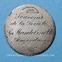 Monnaies Hagondange (Lorraine). La Mandolinette. Médaille en argent. 37 mm / 5 francs Louis Philippe