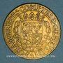 Monnaies Lorraine. Anne, demoiselle d'Aumale, duchesse de Nemours. Jeton cuivre 1635