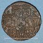 Monnaies Lorraine. Charles III (1543-1608). Jeton cuivre