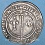 Monnaies Lorraine. Duché de Bar. René I (1419-1480). Demi-gros. Saint-Mihiel