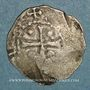 Monnaies Lorraine. Evêché de Metz. Thierry II de Luxembourg (1005-1047). Denier
