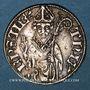 Monnaies Lorraine. Evêché de Metz. Thierry V de Boppard (1365-1384). Tiercelet (= 1/3 de gros). Metz. R !