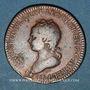 Monnaies Lorraine. François III ( fils de Léopold I). Jeton cuivre 1714