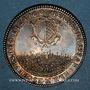Monnaies Lorraine. Pierre de Rissan, échevin de Metz. Jeton argent 1700