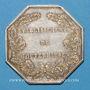 Monnaies Mouterhouse. Société des Etablissements de Mouterhouse. Jeton argent, avant 1830