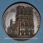 Monnaies 1er Empire - Sacre de Napoléon par Pie VII. 1804. Médaille bronze. 40,8 mm