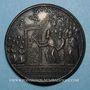 Monnaies Alexandre VI (1492-1503). Ouverture de la Porte Sainte. Médaille de restitution, bronze