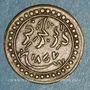 Monnaies Algérie. Commémoration de la victoire française de 1857. Médaille de propagande. Cuivre. 17 mm