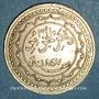 Monnaies Algérie. Commémoration de la victoire française de 1857. Médaille de propagande. Cuivre arg. 27 mm.