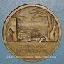 Monnaies Algérie. Compagnie Algérienne. Médaille bronze. 42,2 mm.