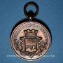 Monnaies Algérie, Ville de Bône, Société Musicale les Enfants de Bône, médaille cuivre