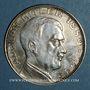 Monnaies Allemagne. Adolph Hitler (1889-1945). Médaille argent. 30,5 mm