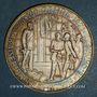 Monnaies Allemagne. Centennaire de la fondation de l'empire allemand, 1971. Médaille argent. 40 mm.