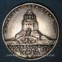 Monnaies Allemagne. Völkerschlachtdenkmal. Mémorial de la Bataille des Nations. 1913. Médaille bronze arg.