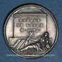 Monnaies Antoine Godeau, Homme de lettres, évêque de Vence. Médaille argent gravée par Dassier
