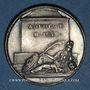 Monnaies Antoine Le Maistre, avocat (1608-1658). Médaille argent gravée par Dassier