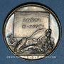 Monnaies Antoinette du Ligier de la Garde, dame des Houlières. Poète (1638-1694). Médaille argent