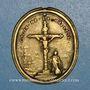 Monnaies Arras. Erection du nouveau calvaire. 1738. Médaille bronze