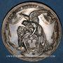 Monnaies Autriche. Médaille de baptême (fin 18e). Argent. 42,18 mm