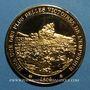 Monnaies Bataille d'Iéna. 1806. Médaille vermeil. Frappe moderne !