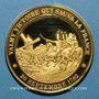 Monnaies Bataille de Valmy. 1792. Médaille vermeil. Frappe moderne !