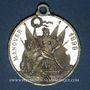 Monnaies Bavière. Luitpold, prince régent (1886-1912). Manoeuvres 1898. Médaille étain. 31,81 mm.
