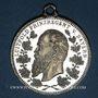 Monnaies Bavière. Luitpold, prince régent. Manoeuvres. 1898. Médaille étain. 31,81 mm.