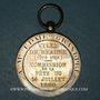 Monnaies Beaune (Côte d'Or). Fête du 14 juillet 1880. Médaille argent