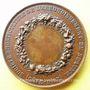 Monnaies Beaune (Côte d'Or). Société d'horticulture. Médaille en cuivre. 41,6 mm. Gravée par Pingret
