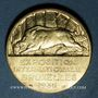 Monnaies Belgique. Bruxelles. Exposition internationale. 1935. Médaille bronze