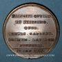 Monnaies Belgique. Charles Alexandre de Lorraine. Pose 1ère pierre église de Caudenberg 1776. Médaille bronze