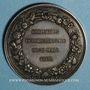 Monnaies Belgique. Exposition de Gand 29 mars 1868. Médaille argent