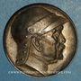 Monnaies Bismarck. 80e anniversaire, 1895. Médaille argent. 29,7 mm