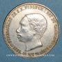 Monnaies Cambodge. Funérailles de Norodom I (1860-1904). Médaille argent. 34,1mm