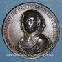 Monnaies Cardinal de Fleury (1653-1743). Médaille cuivre. 1741. 39,4 mm