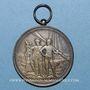 Monnaies Chalon-sur-Saône. Société des Jouteurs de Sainte-Marie. Médaille argent