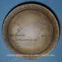 Monnaies Charles Lindbergh (1902-1974). 1ère traversée New York - Paris sans escale. 1927. Médaille bronze.