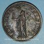Monnaies Clément VIII (1592-1605). La Religion. Médaille de restitution, bronze