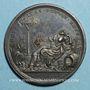Monnaies Clément XII (1730-1740). La ville de Ravenne protégée des inondations, 1735. Médaille bronze