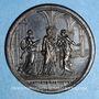 Monnaies Clément XIV (1769-1774). Les Trois Art (1773). Médaille bronze