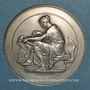 Monnaies Compagnie des Chemins de fer du Midi. Médaille en argent. 36 mm. Gravée par Chabaud