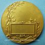 Monnaies Concours de tir. Médaille en bronze doré. 49,4 mm. Gravée par Emile Monier