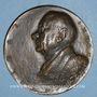Monnaies Dr Henri Lentulo, dentiste (1889-1981). 1956. Médaille bronze