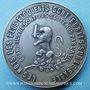 Monnaies Edgar Quinet. Centenaire de sa naissance. 1903. Médaille bronze argenté 39,8 mm. Gravée par L. Micot