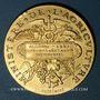 Monnaies Algérie. Concours Général Agricole. Instruments. 1887. Médaille en or. 33,6 mm. 25,05 g